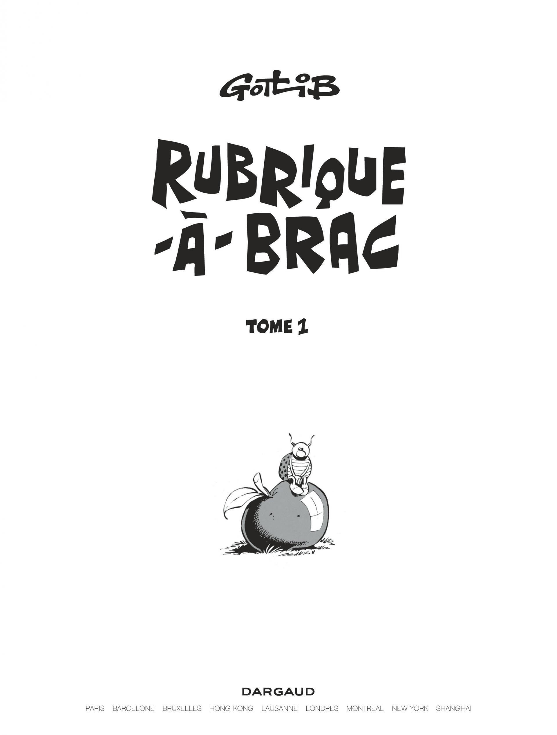 Rubrique-à-Brac T.1