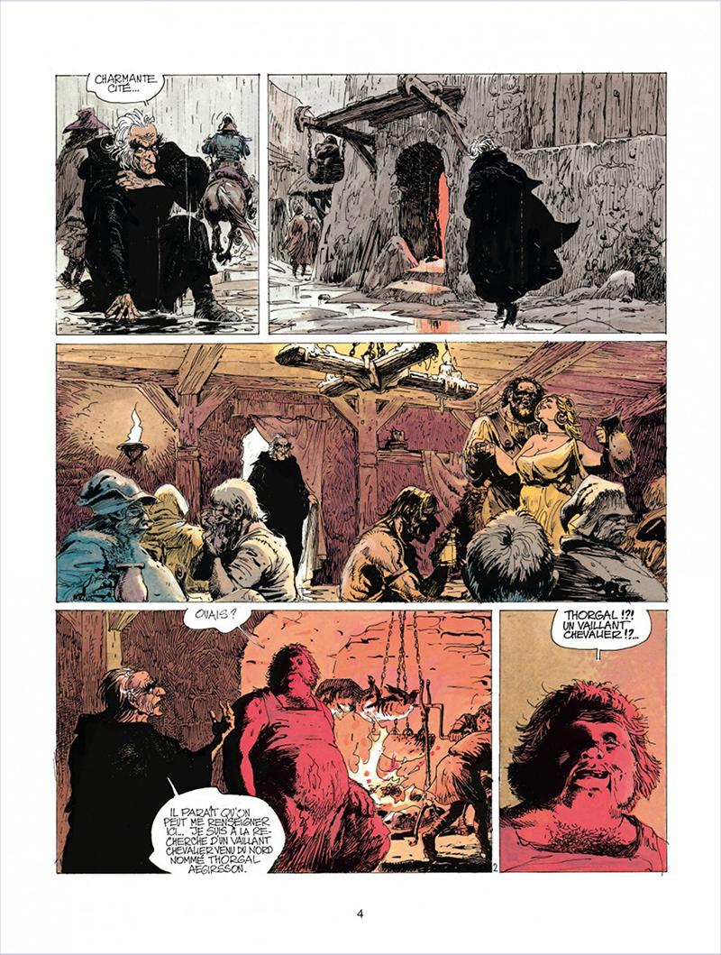 Extrait n°2 de la bd tome 5 par Jean Van Hamme