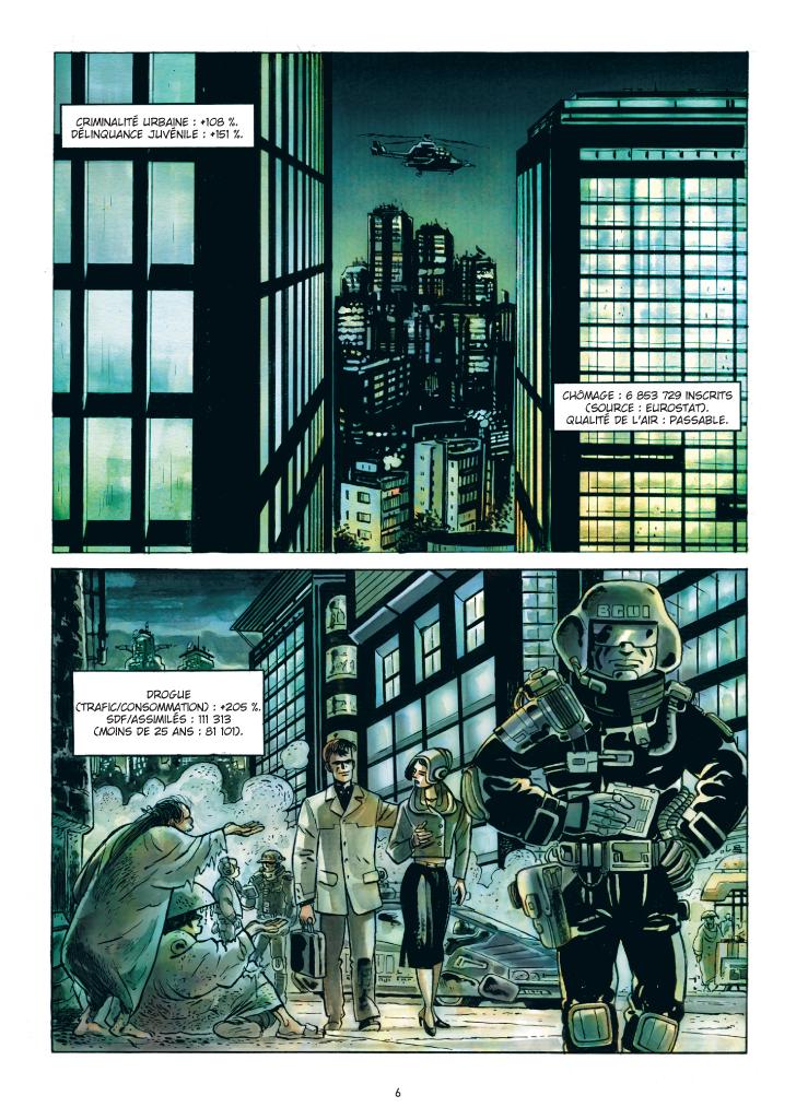 Extrait n°2 de la bd Carton blême par Jean-Hugues Oppel