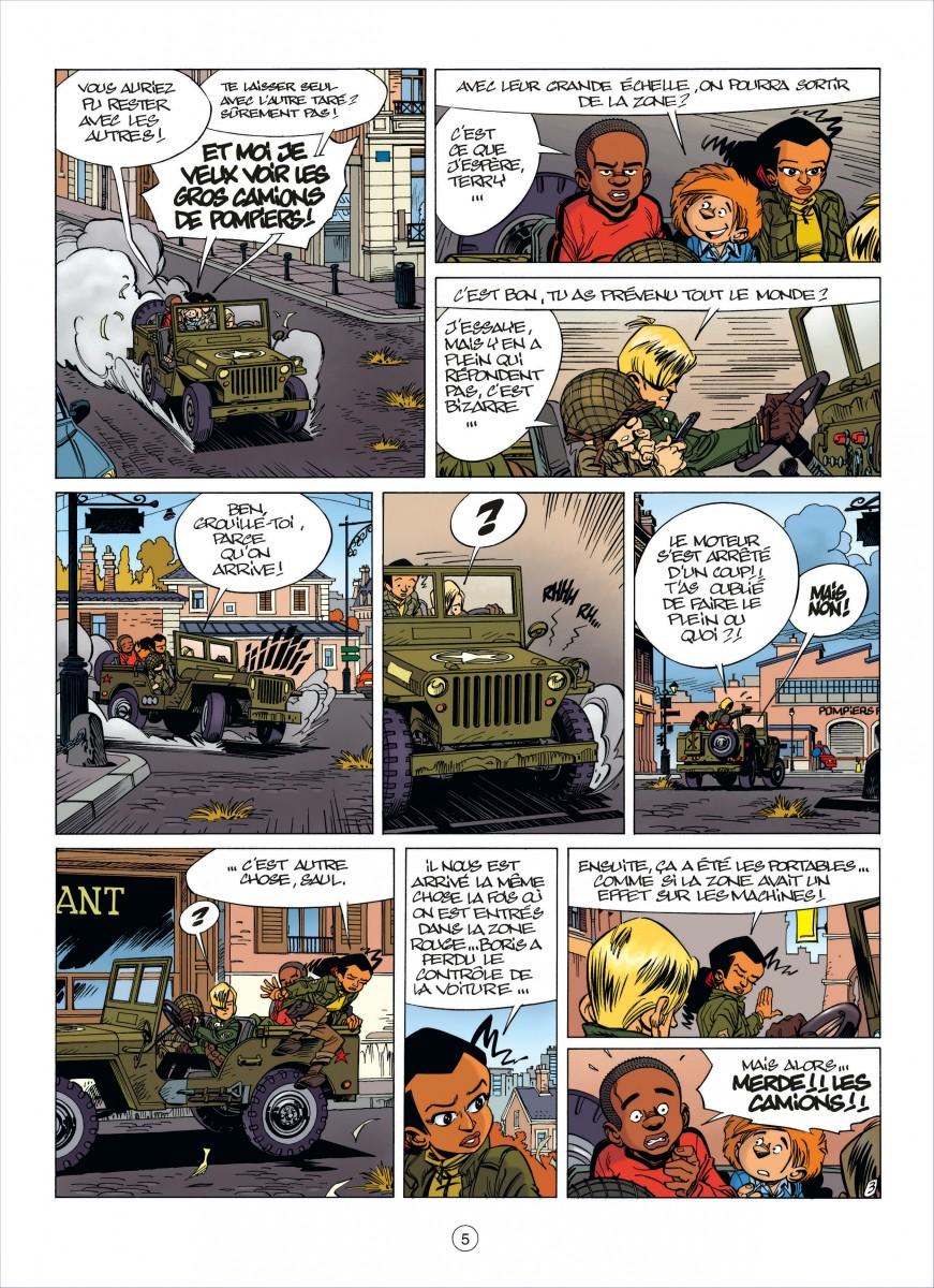 Extrait n°2 de la bd tome 7 par Usagi