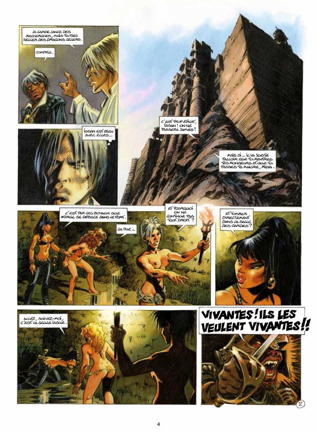 Extrait n°2 de la bd tome 2 par Arleston