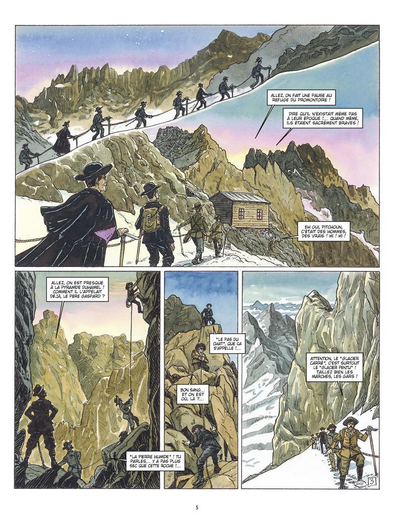 Extrait n°3 de la bd Les amants de l'Oisans par Fabien Lacaf
