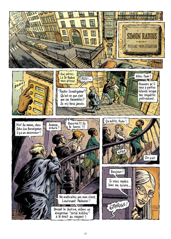 Extrait n°3 de la bd par Erwan Courbier