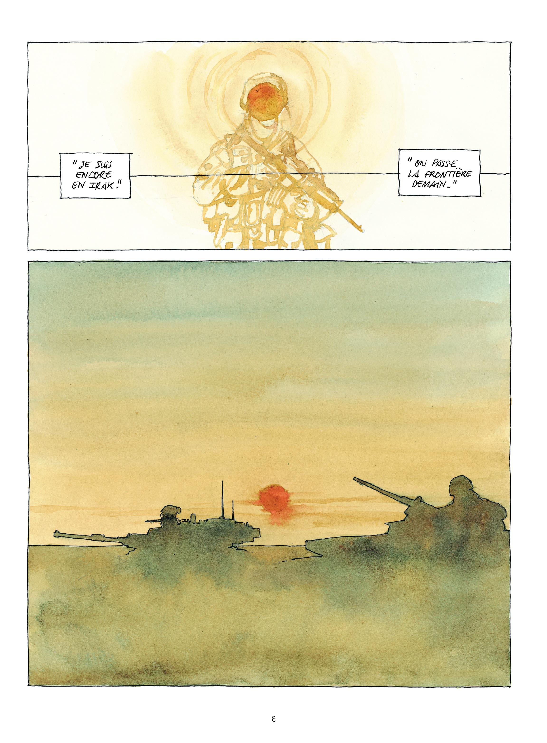 Extrait n°1 de la bd Revenants par Maël