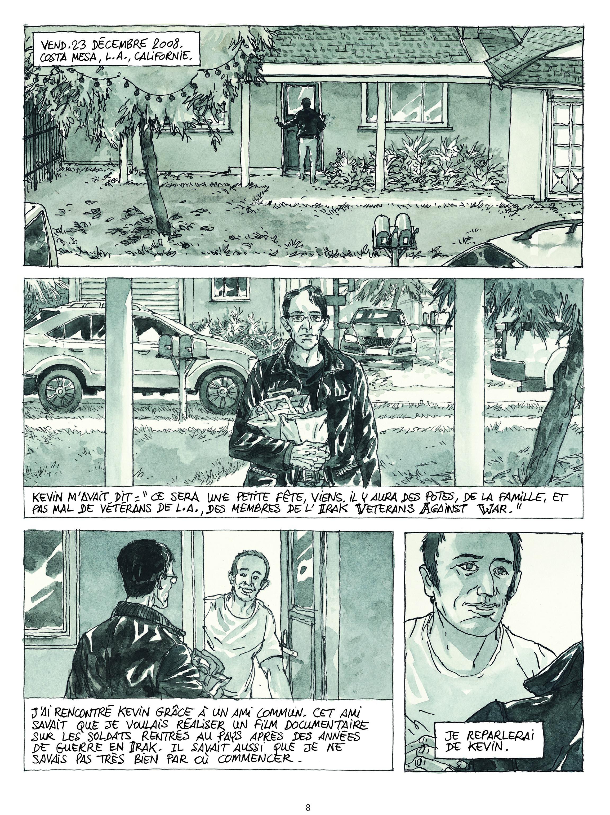 Extrait n°2 de la bd Revenants par Maël