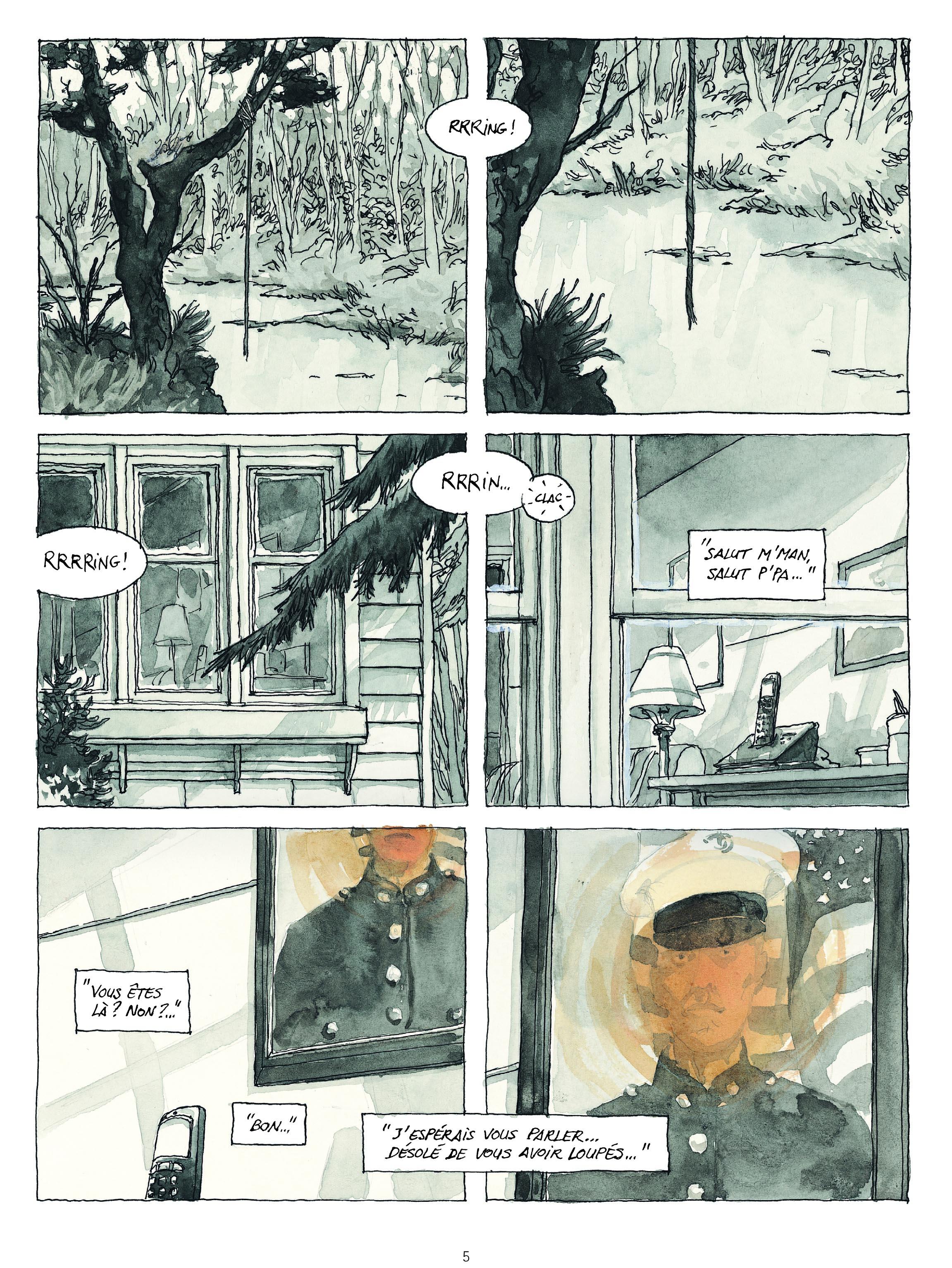 Extrait n°4 de la bd Revenants par Maël