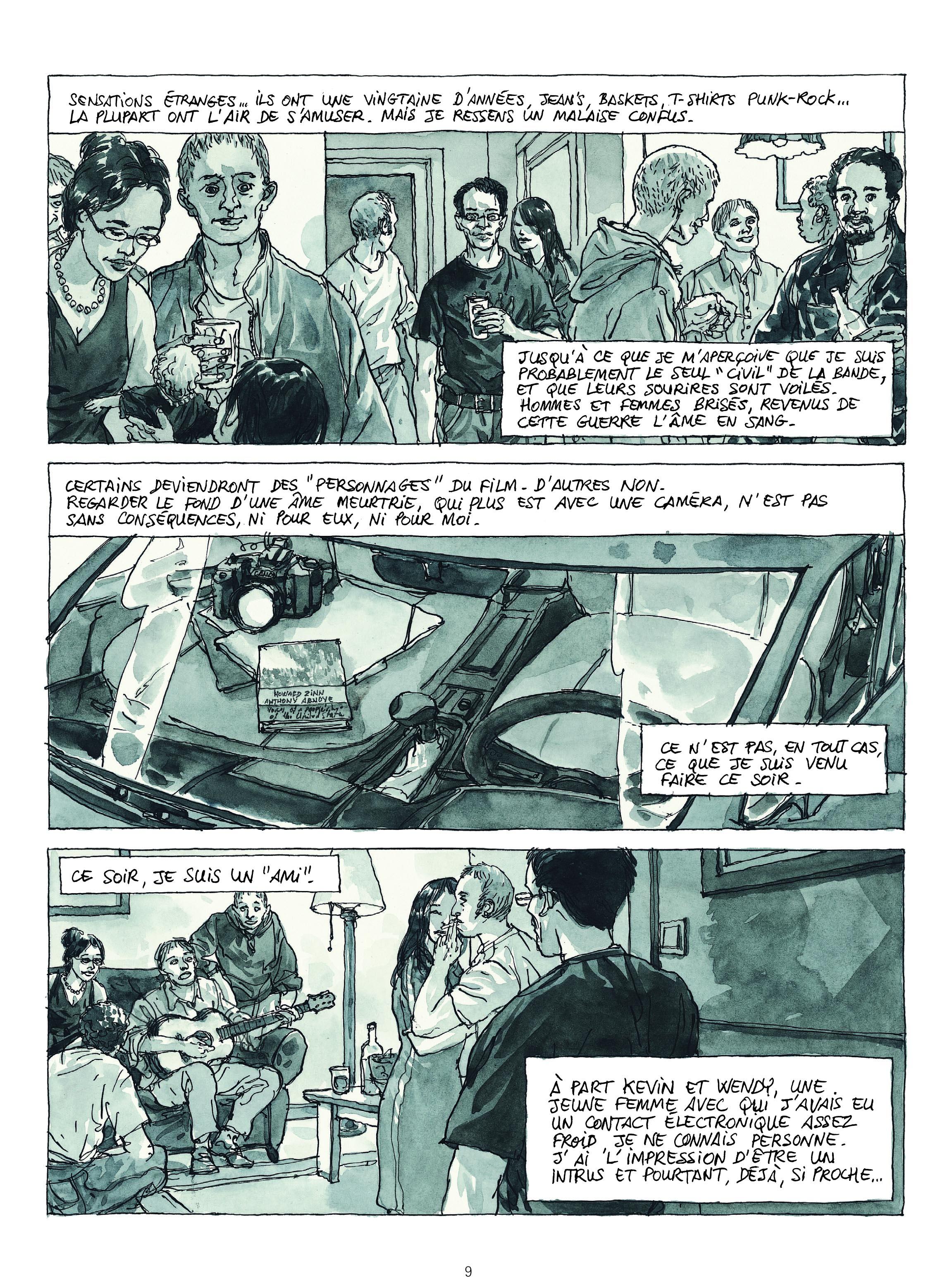 Extrait n°5 de la bd Revenants par Maël