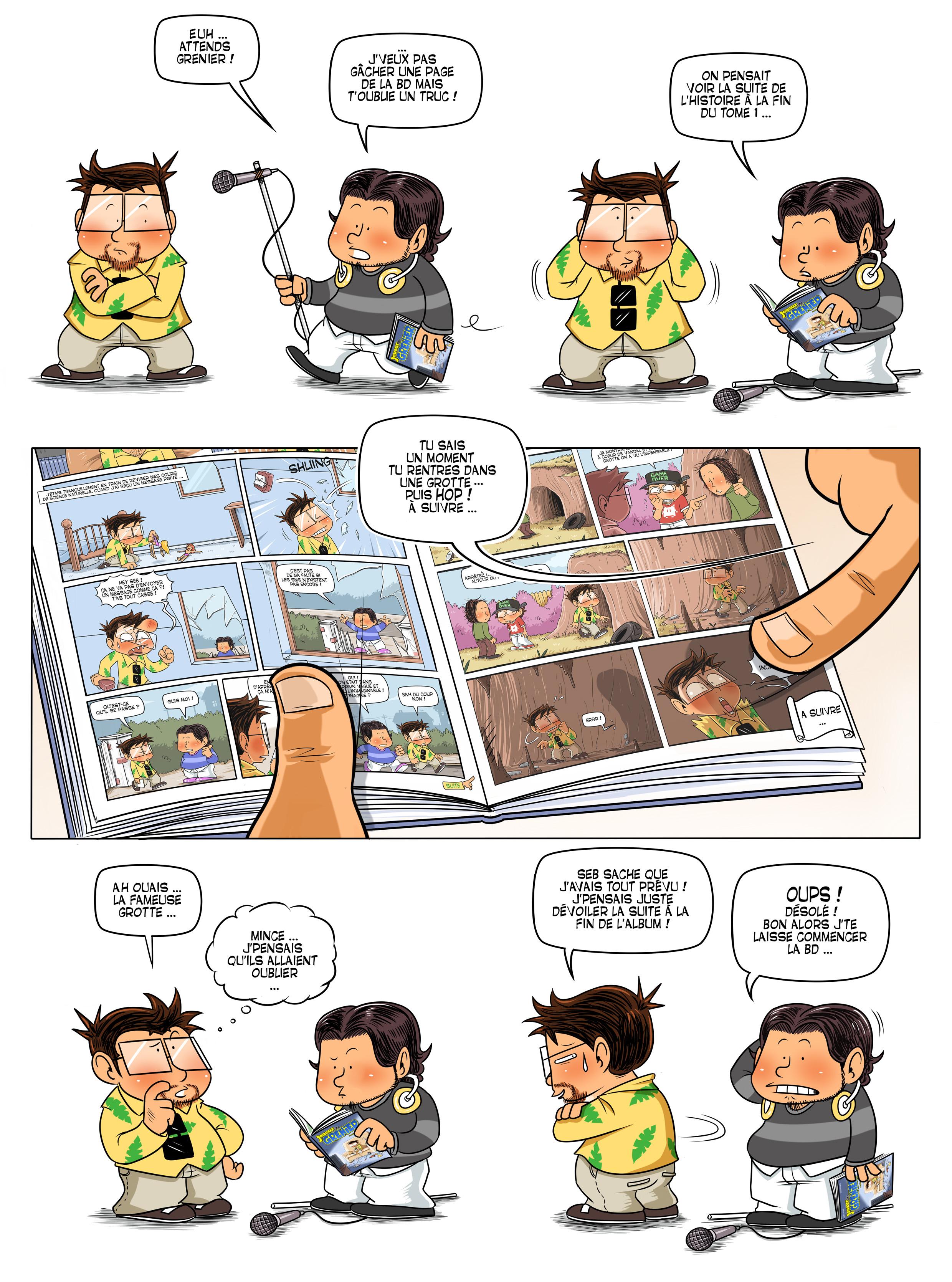 Extrait n°2 de la bd tome 2 par Piratesourcil