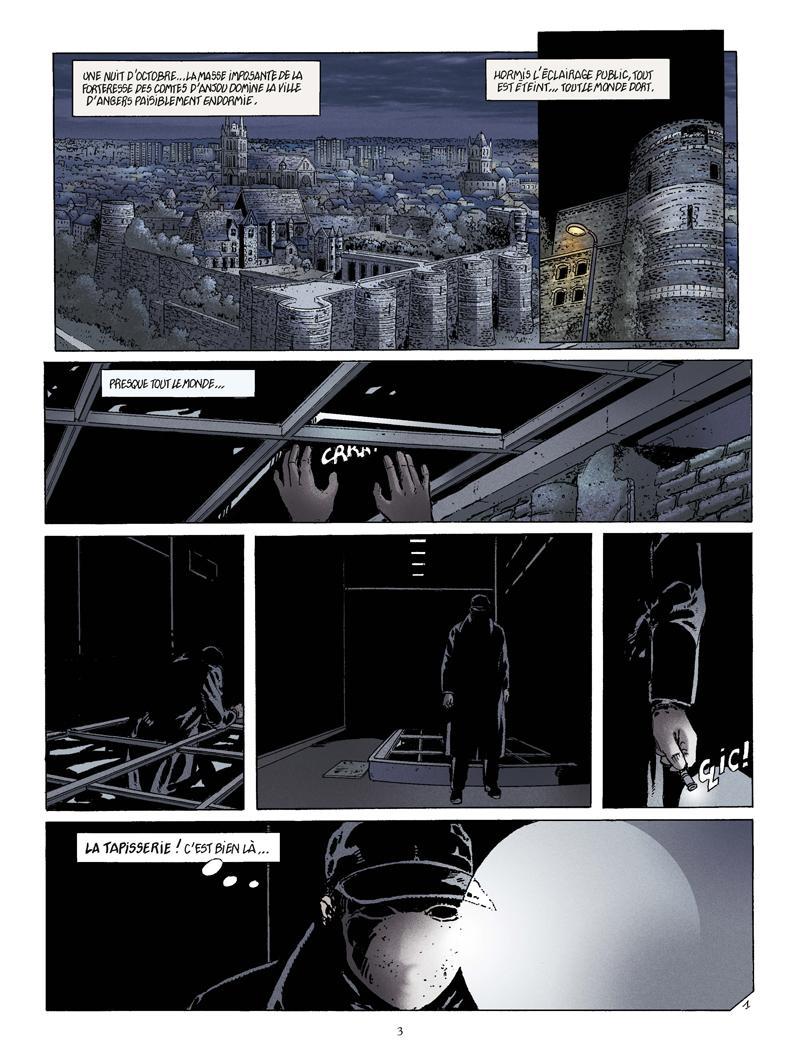 Extrait n°1 de la bd La Bête de l'Apocalypse par Rodolphe