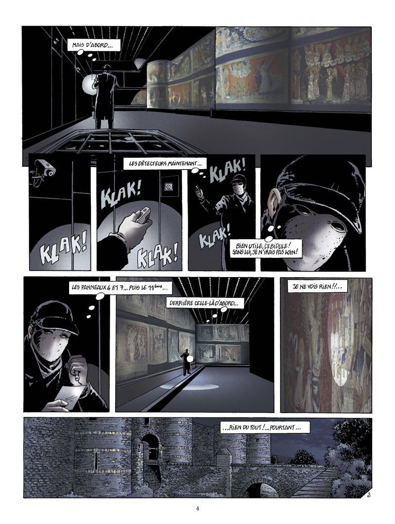Extrait n°2 de la bd La Bête de l'Apocalypse par Rodolphe
