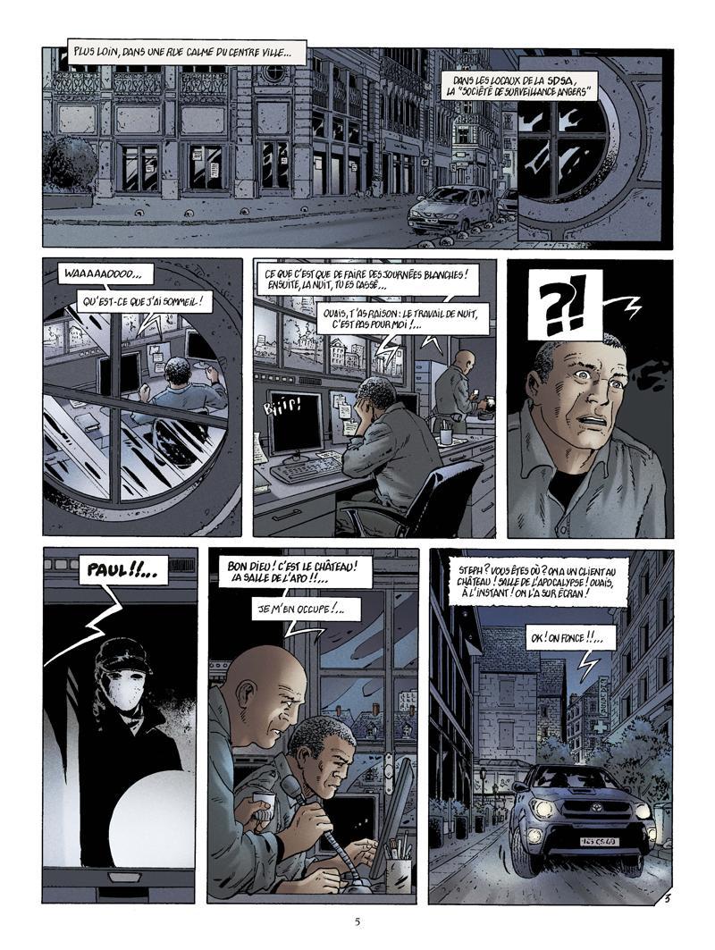 Extrait n°3 de la bd La Bête de l'Apocalypse par Rodolphe