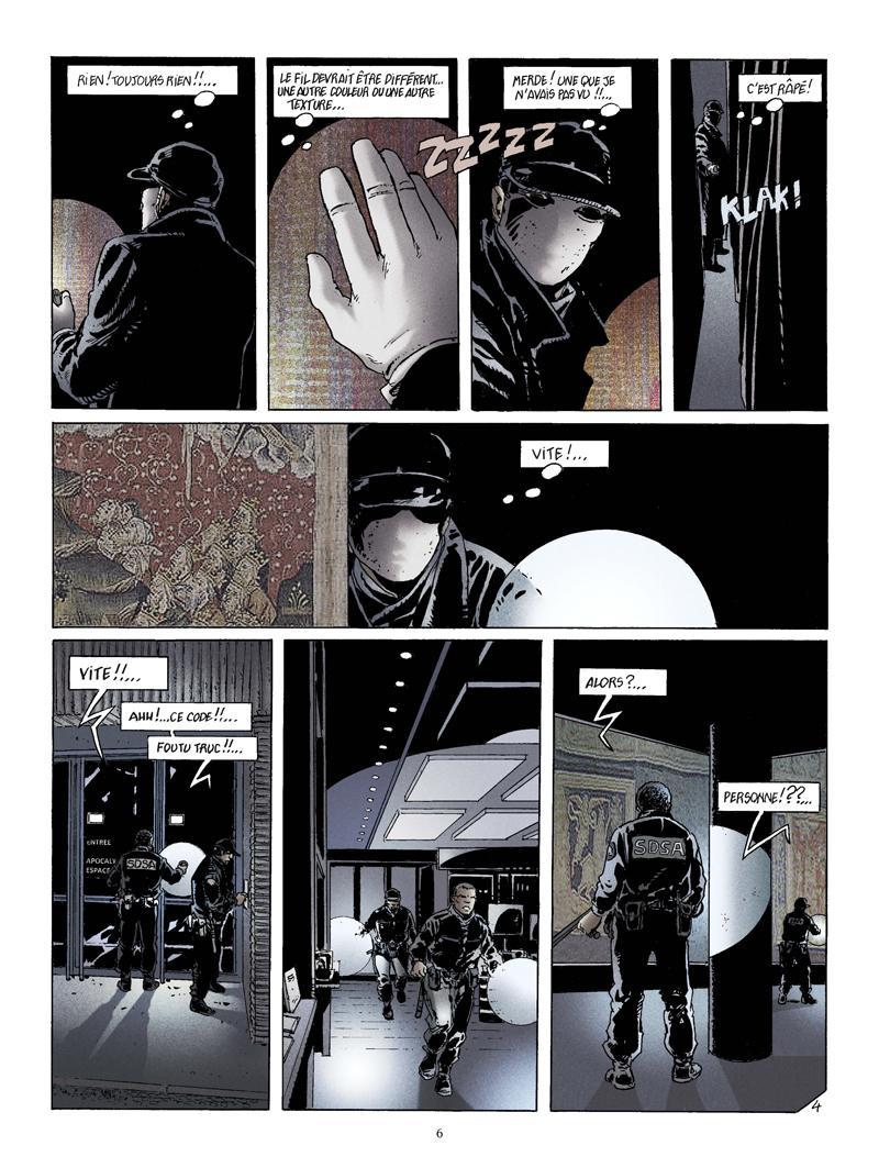 Extrait n°4 de la bd La Bête de l'Apocalypse par Rodolphe