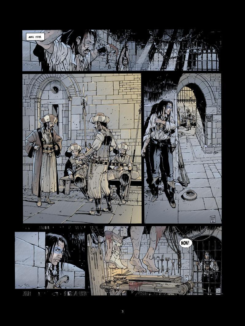 Extrait n°1 de la bd tome 4 par Jean-Yves Delitte