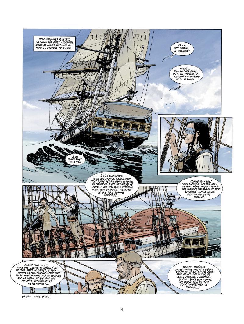 Extrait n°2 de la bd tome 4 par Jean-Yves Delitte