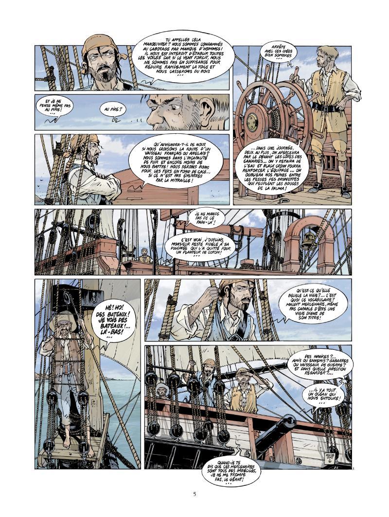 Extrait n°3 de la bd tome 4 par Jean-Yves Delitte