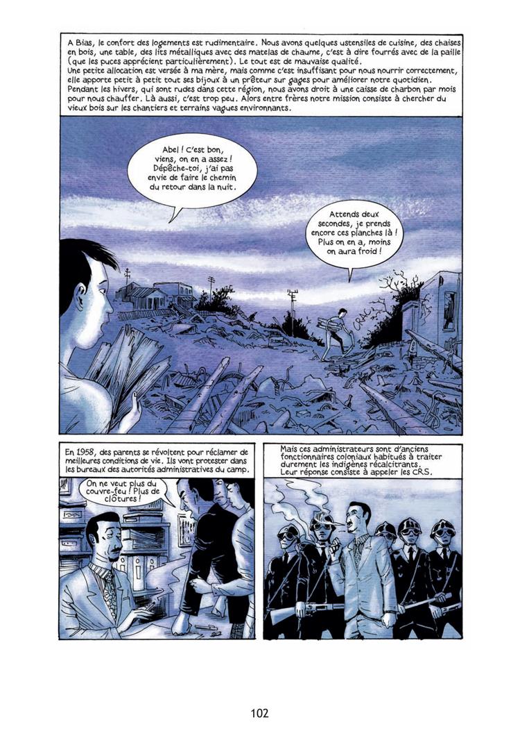 Extrait n°3 de la bd tome 1 par Clément Baloup