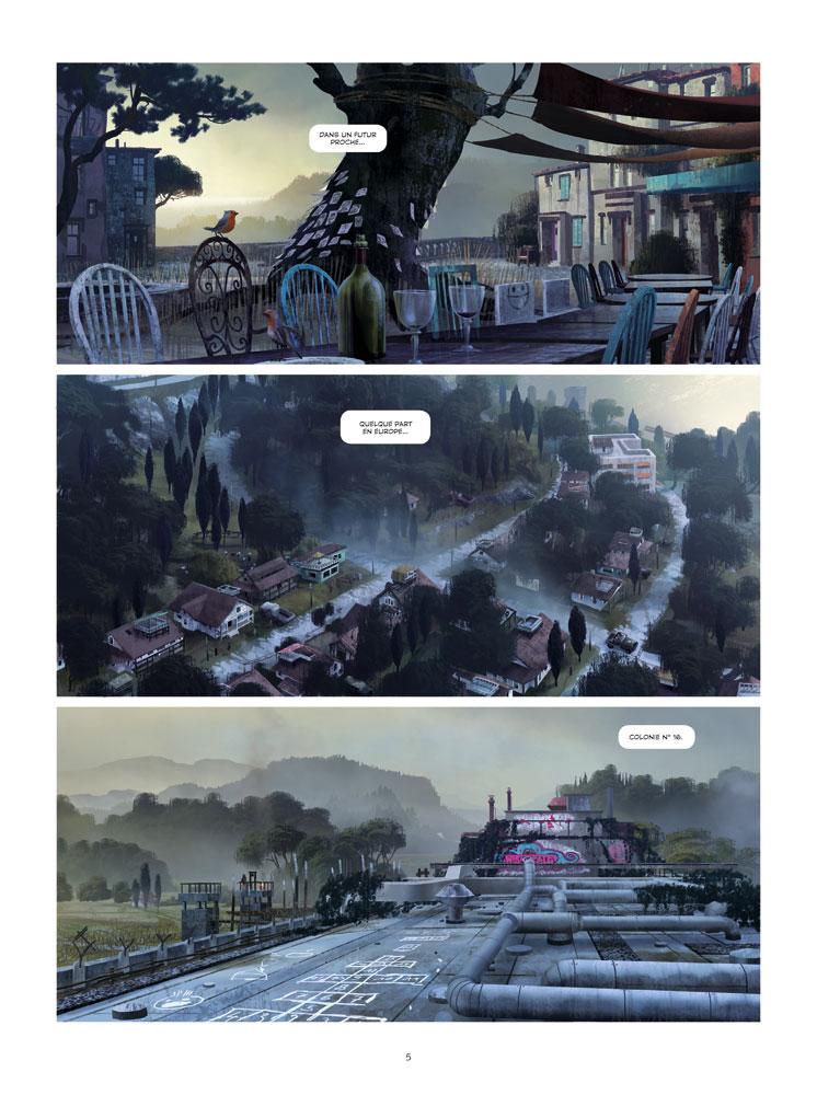 Extrait n°1 du comics tome 1 par Benjamin Von Eckartsberg