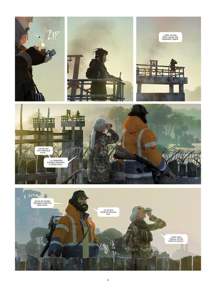 Extrait n°2 du comics tome 1 par Benjamin Von Eckartsberg