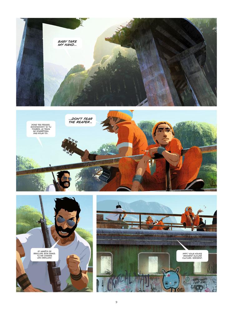 Extrait n°3 du comics tome 1 par Benjamin Von Eckartsberg