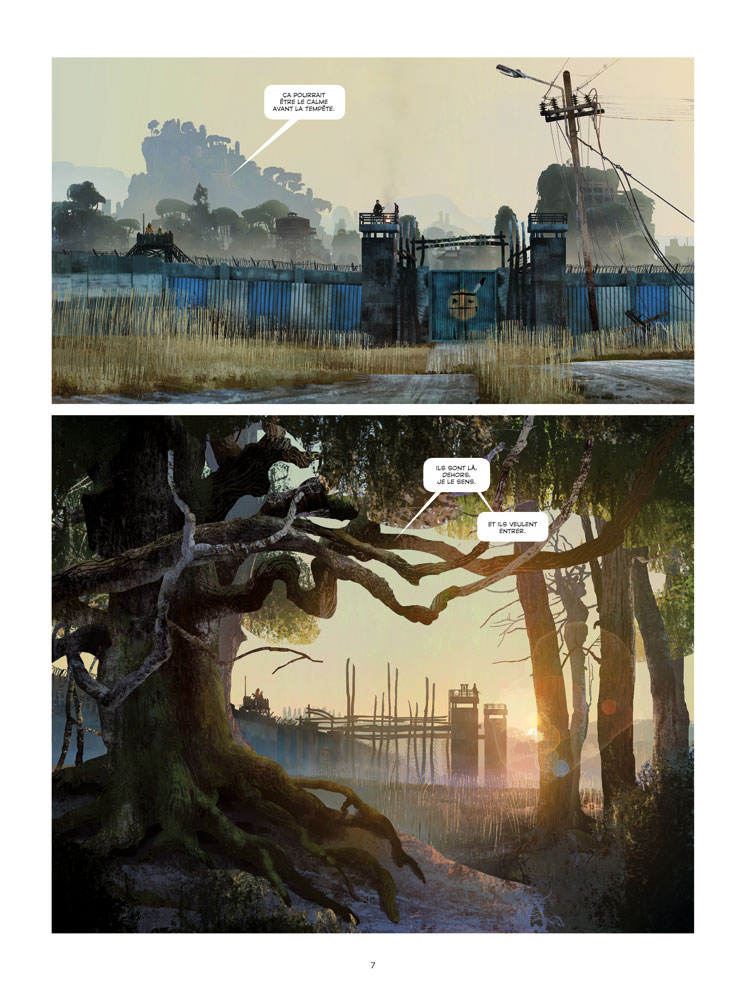 Extrait n°4 du comics tome 1 par Benjamin Von Eckartsberg