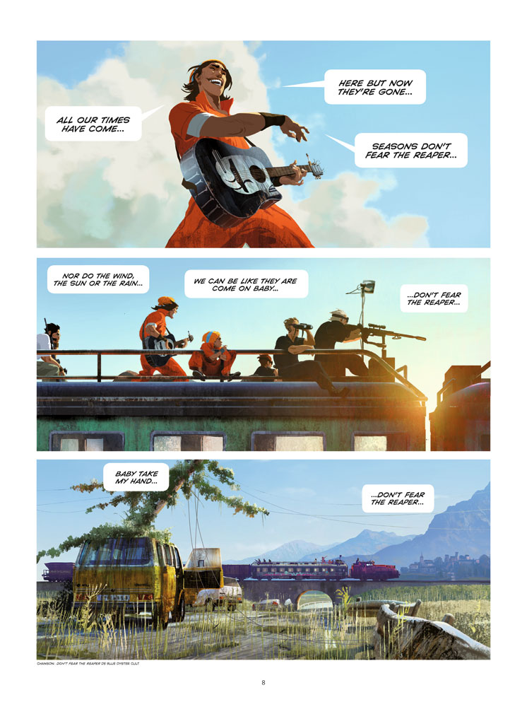 Extrait n°5 du comics tome 1 par Benjamin Von Eckartsberg