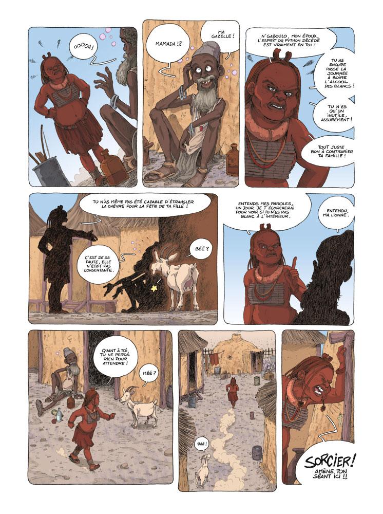 Extrait n°5 de la bd tome 1 par David Ratte