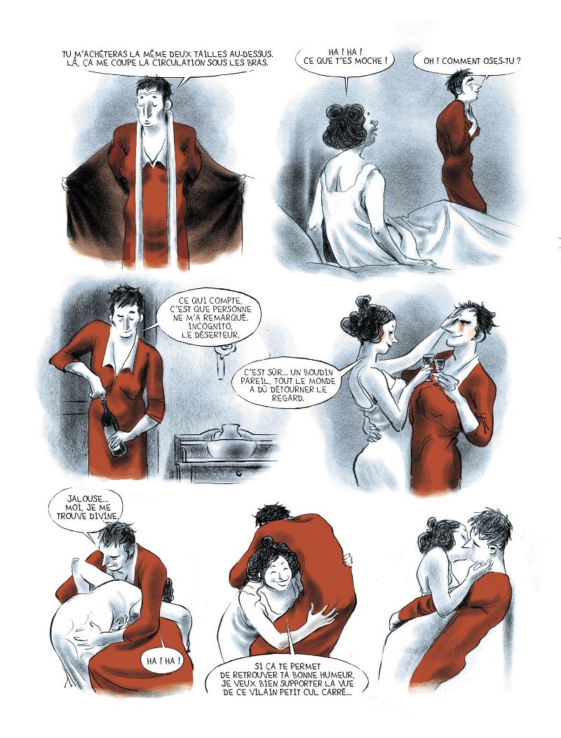 Extrait n°1 de la bd Mauvais genre par Chloé Cruchaudet