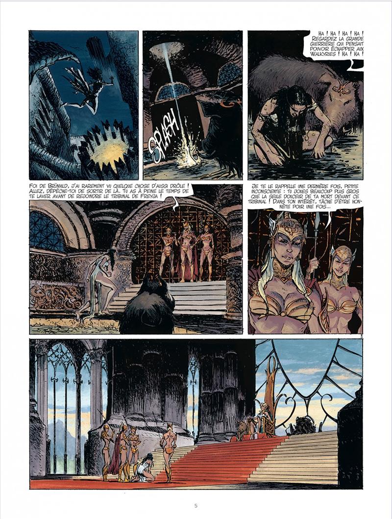 Extrait n°3 de la bd tome 2 par Yves Sente