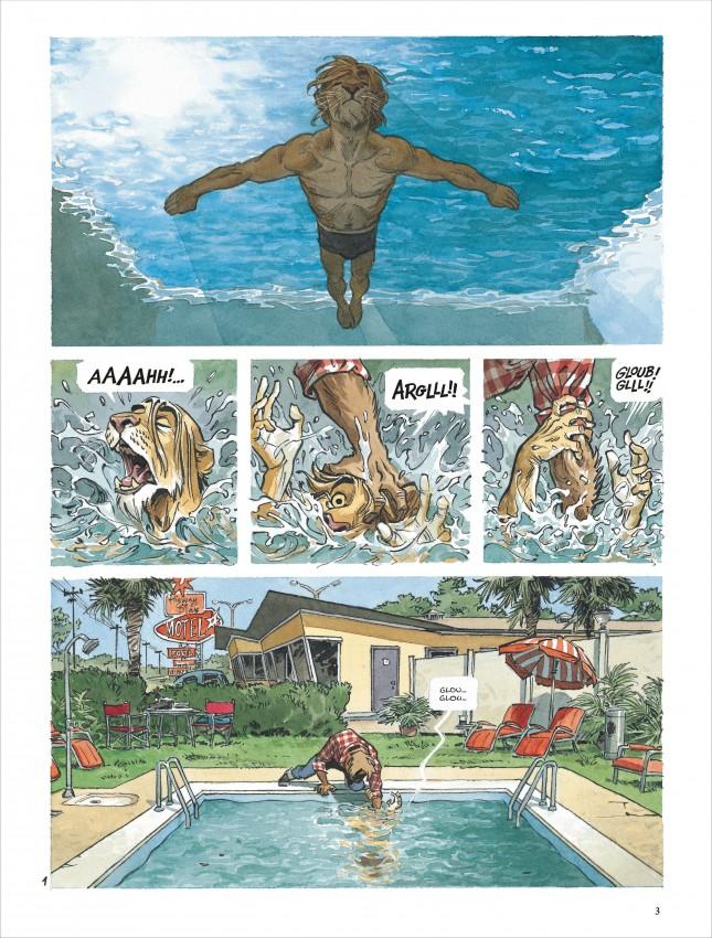 Extrait n°2 de la bd tome 5 par Juan Diaz Canales