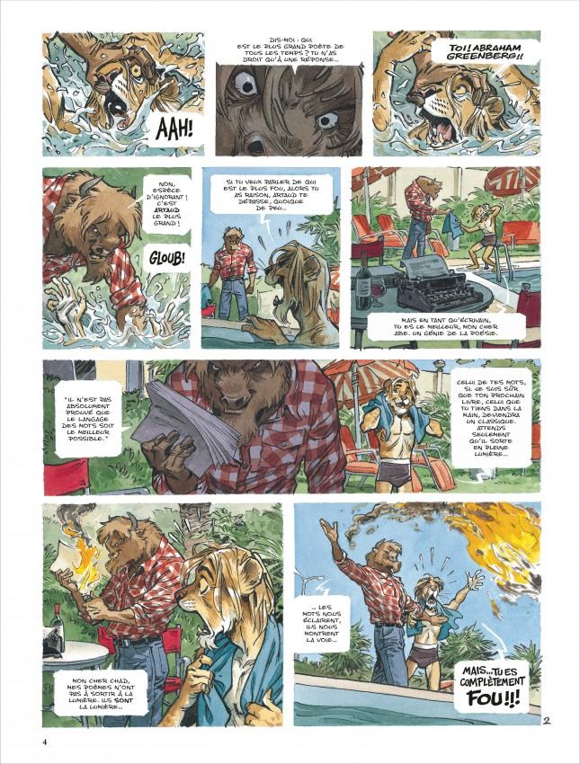 Extrait n°3 de la bd tome 5 par Juan Diaz Canales