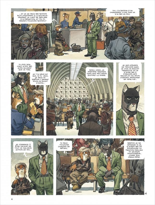 Extrait n°5 de la bd tome 5 par Juan Diaz Canales