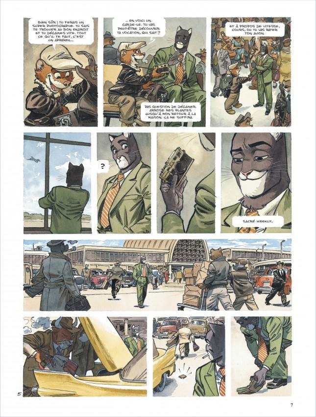 Extrait n°6 de la bd tome 5 par Juan Diaz Canales