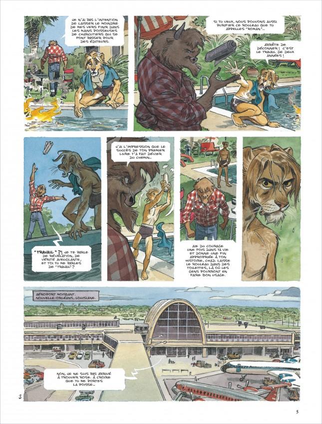 Extrait n°4 de la bd tome 5 par Juan Diaz Canales
