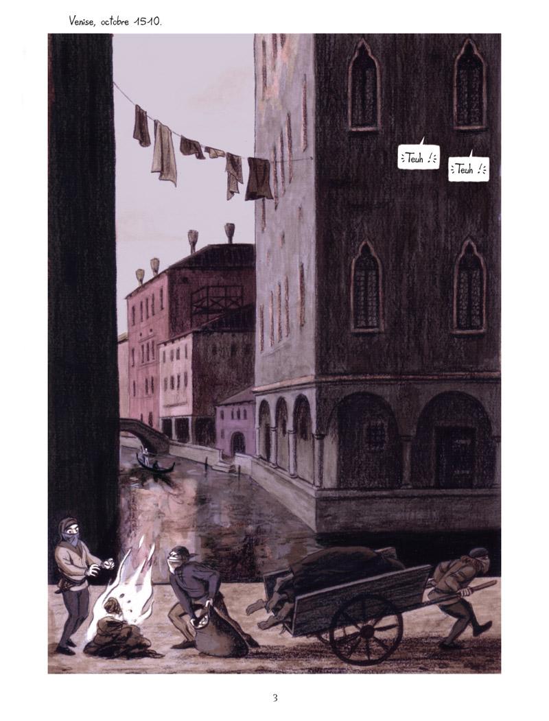 Extrait n°1 de la bd La Vision de Bacchus par Jean Dytar