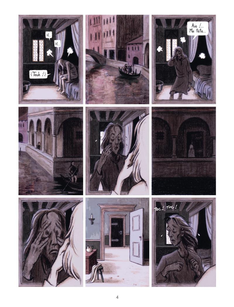 Extrait n°2 de la bd La Vision de Bacchus par Jean Dytar
