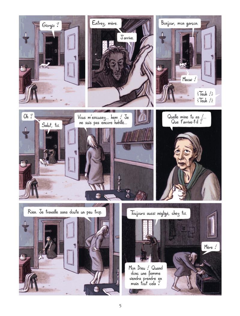 Extrait n°3 de la bd La Vision de Bacchus par Jean Dytar