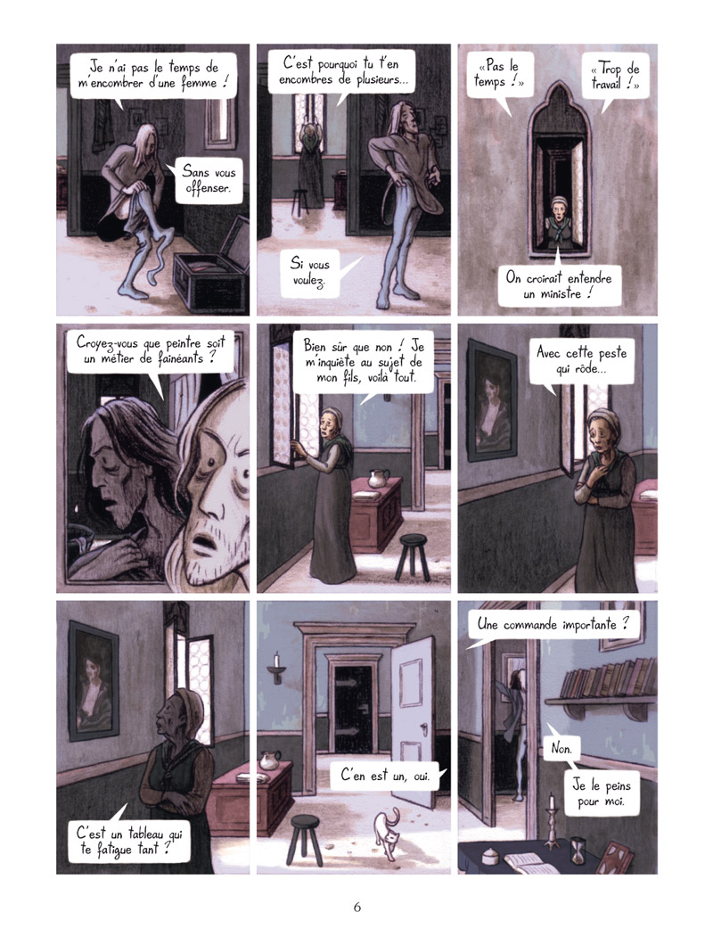 Extrait n°4 de la bd La Vision de Bacchus par Jean Dytar