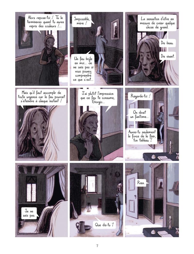 Extrait n°5 de la bd La Vision de Bacchus par Jean Dytar