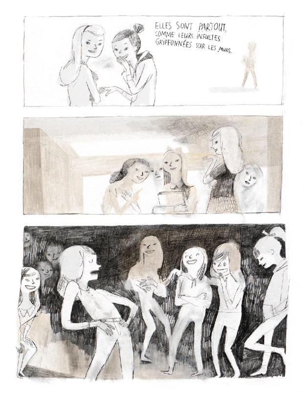 Extrait n°1 du comics Jane, le renard et moi par Isabelle Arsenault