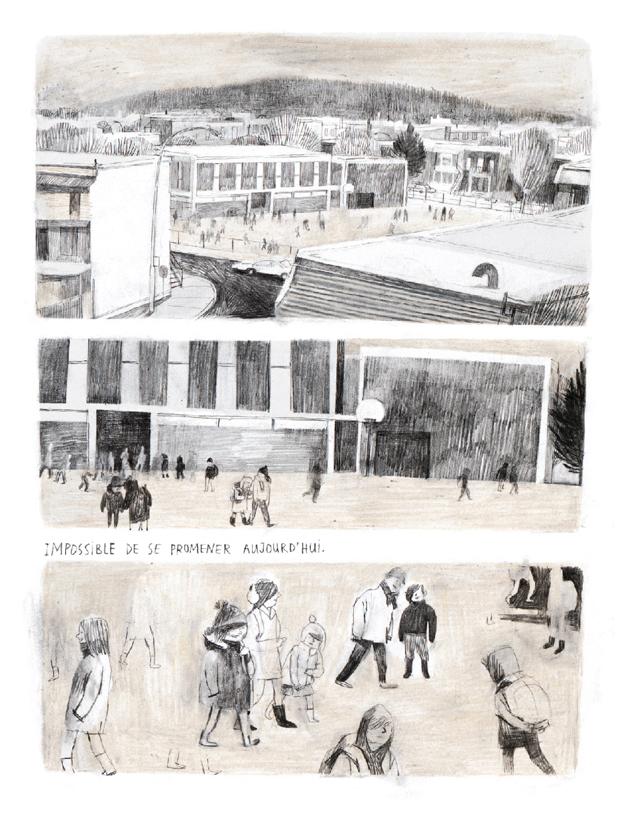 Extrait n°2 du comics Jane, le renard et moi par Isabelle Arsenault