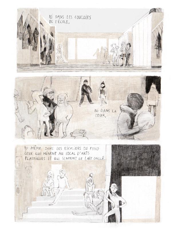 Extrait n°3 du comics Jane, le renard et moi par Isabelle Arsenault