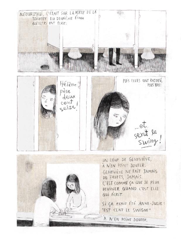 Extrait n°4 du comics Jane, le renard et moi par Isabelle Arsenault