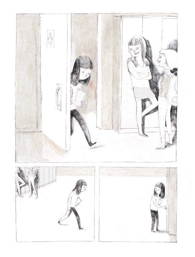 Extrait n°5 du comics Jane, le renard et moi par Isabelle Arsenault
