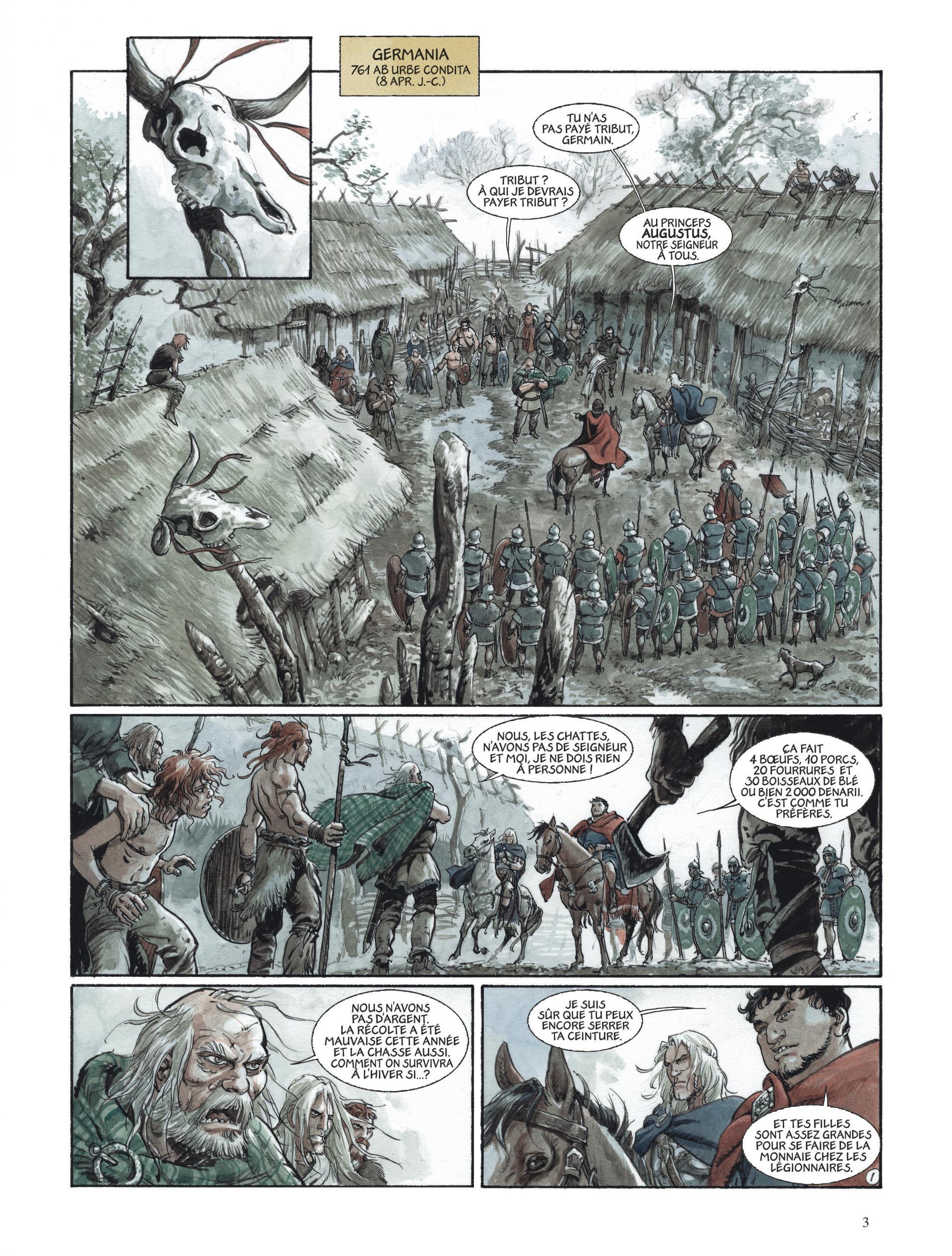 Les Aigles de Rome - Livre III