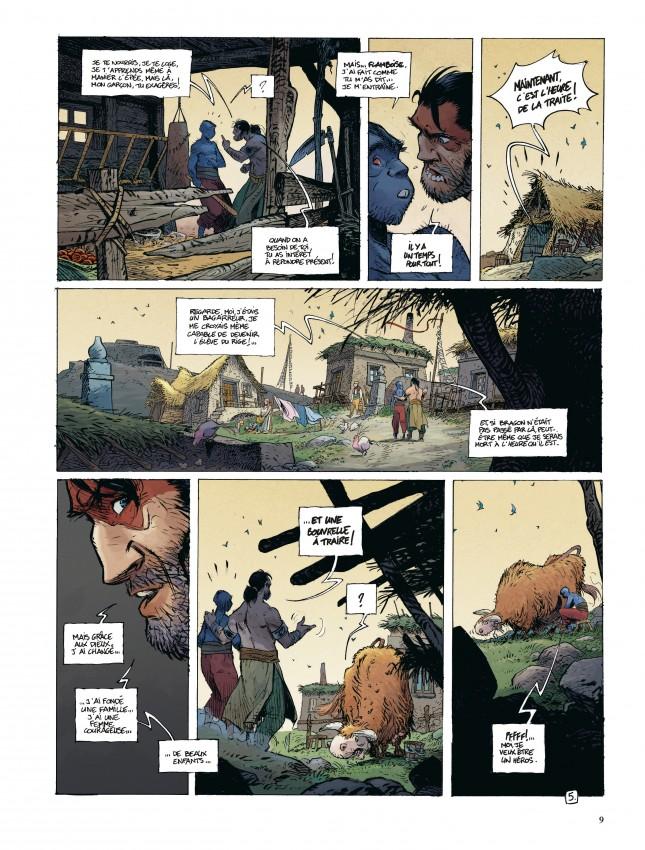 Extrait n°5 de la bd tome 4 par Régis Loisel