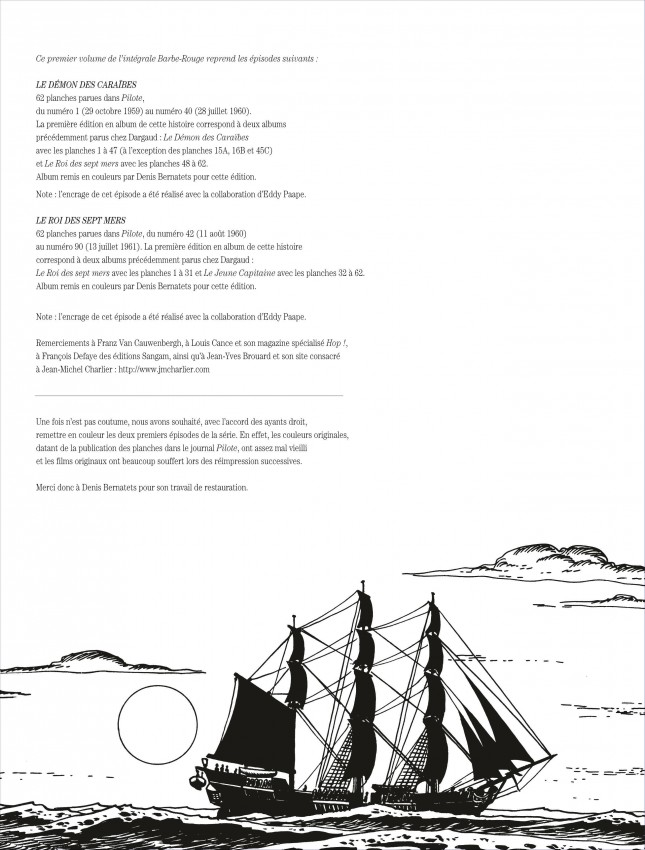 Extrait n°2 de la bd tome 1 par Jean-Michel Charlier