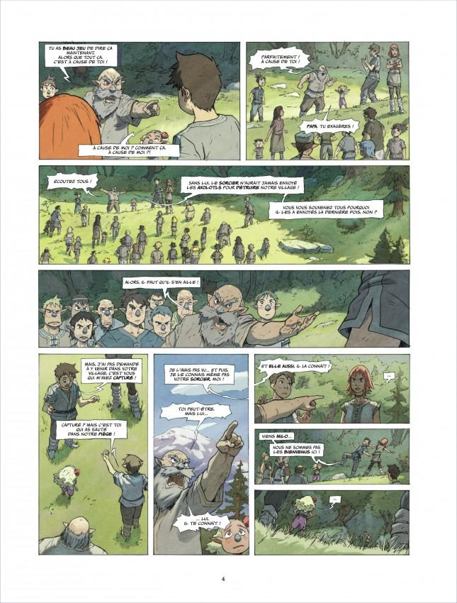 Extrait n°4 de la bd tome 2 par Richard Marazano