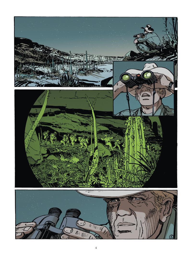 Extrait n°2 du comics tome 1 par Matz