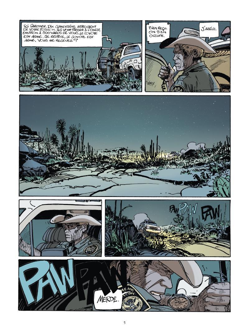 Extrait n°3 du comics tome 1 par Matz