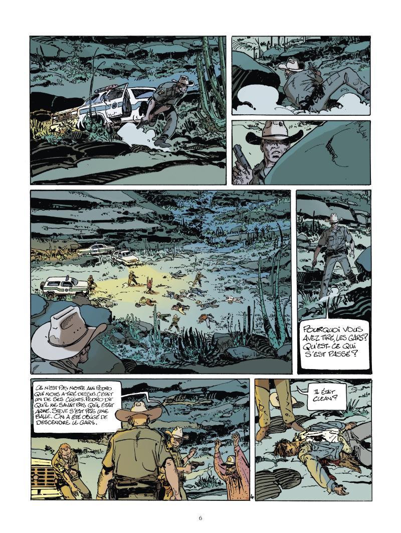 Extrait n°4 du comics tome 1 par Matz